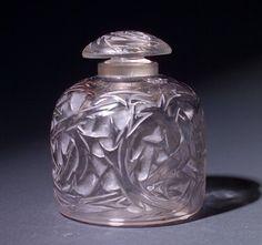 R. LALIQUE Perfume bottle, Epines Flacon No. 4  #BookofLostFragrances #Suspense #Novel
