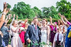 Balbirnie House Summer Wedding, Confetti shot Wedding Confetti, Bridesmaid Dresses, Wedding Dresses, Buick, Summer Wedding, Photography, House, Fashion, Bridesmade Dresses