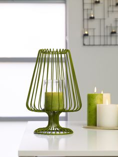 Piper Metal Candle Holder, green $69.95 shop it here http://www.oasishomewares.com/host-a-party/book-an-Oasis-party.html