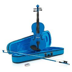 Gear4Music Student 1/2 Violin Blue by Gear4music - B-Stock Presented in a striking Metallic Blue finish you may be forgiven for thinking that the Student 1/2 Violin by Gear4music is all show and no go. Instead it boasts a high quality craft that makes for bot http://www.MightGet.com/may-2017-1/gear4music-student-1-2-violin-blue-by-gear4music--b-stock.asp
