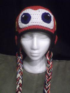 Lightning McQueen Crochet Hat with Wheels by CrochetByJulianne