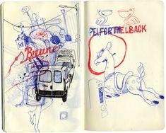Anton Marrast - When Ideas Overlap | Doodlers Anonymous