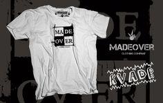 Madeover clothing triko - kvádr Madeover clothingtriko v bílé barvě s designemkvádr! Sítotiskem potisklé triko vytvořené speciálně pro všechny ridery! MADEOVER CLOTHING - APPAREL FOR DESTROY
