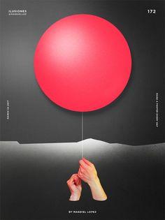 Magdiel Lopez poster design, Illusions
