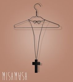 MishMash - Crucifix Necklace