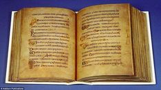 One of the world's most famous medieval manuscripts was created in two halves, according t...