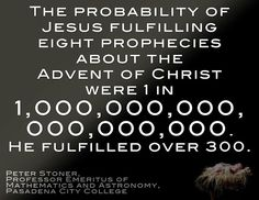 ((the life of Jesus fulfilled the prophecies and the Jews' religion)))