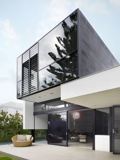 Architecture Photography: The Good House / Crone Partners in Architecture & Interior design Architecture Résidentielle, Beautiful Architecture, Contemporary Architecture, Installation Architecture, Modern Contemporary, Contemporary Kitchens, Modern Glass, Contemporary Bedroom, Modern Exterior