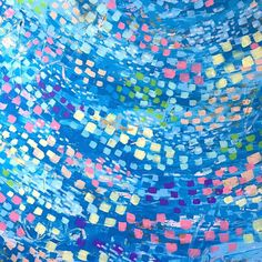 "Julianna Stockton on Instagram: ""Sneak peek! ""Swept Away"" (work in progress) will be hanging in the Cary Memorial Library in Lexington for the month of April, as part of a…"" Colorful Abstract Painting, Background, Abstract Painting, Art, Digital Prints, Abstract, Color, Prints"