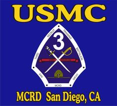 3rd Recruit Training Battalion, MCRD San Diego....That's where I became a MARINE