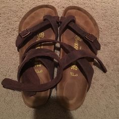 c26ca94bbe49 Birkenstock yara sandals New without box Birkenstock yara sandals. Tried  them on but they re too big