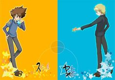 Tai (Taichi) and Matt (Yamato) Digimon Adventure 02, Hunter Games, Naruto Boys, Naruto And Sasuke, All Art, Nifty, Fanart, Hero, Posts