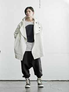 24thofaugustosakajapan:  JACKET: toogood INNER: bassike PANTS: ROOMS by LOST & FOUND SHOES: masnada http://www.24aug.jp/shop/index.php?dispatch=categories.view&category_id=351