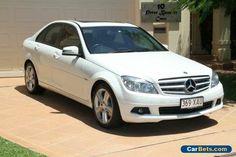 2010 Mercedes-Benz C200 CGI W204 MY10 Elegance White Automatic 5sp A Sedan #mercedesbenz #c200cgi #forsale #australia
