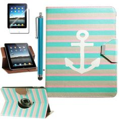 Pandamimi ULAK(TM) 360 Rotating PU Leather Card Holder Stand Case Cover for Apple iPad 1 1st Generation with Stylus and Screen Protector (Pattern-Stay II) ULAK http://www.amazon.com/dp/B00H98P9GQ/ref=cm_sw_r_pi_dp_TA7Vtb1HWP0WE4NY