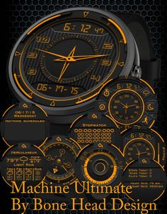 Machine Ultimate watch face preview