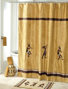 Shop Today For Avanti Kokopelli Bath Collection Shower Curtain Deals On Curtains Rings