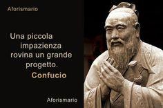 Aforismario®: Impazienza - Frasi e proverbi sul Perdere la Pazie...