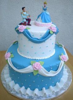 Top 5 Disney Cakes Cinderella Cake