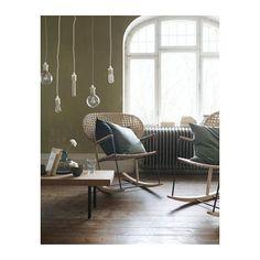 GRÖNADAL Schaukelstuhl, Sitz und Rücken sind auf traditionelle Weise handgeflochten- Breite: 57 cm, Tiefe: 82 cm, Sitzbreite: 47 cm Sitztiefe: 44 cm, Sitzhöhe: 42 cm Höhe: 86 cm - Rattan, massive Esche und Stahl mit Pulverbeschichtung auf Epoxidharz-/Polyesterbasis   - 149.00 bei IKEA