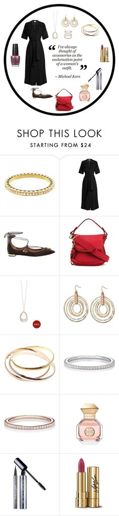 """Warm Winter We're Having in TX!"" by rboowybe ❤ liked on Polyvore featuring Foundrae, Raey, Aquazzura, Tom Ford, Fiorelli, Robert Lee Morris, Cartier, Raphaele Canot, Tory Burch and Urban Decay"