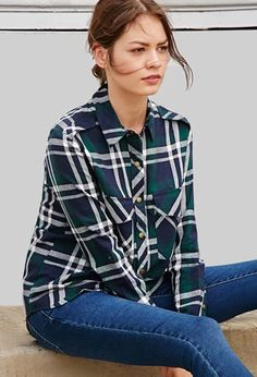 Tartan Plaid Shirt | Forever 21 | #thelatest