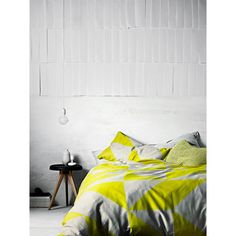 Lime Duo Duvet Cover