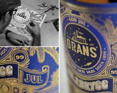 GRANS by Peter-John de Villiers, via Behance