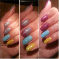 #bluesky gel polish #neon range #elite99 #chameleon #ibd just gel polish #silverlites