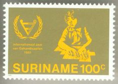 1981 Suriname International Year of Disabled People