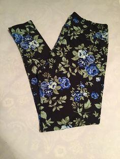 ff29ecc4e658b0 Lularoe Leggings UNICORN TC Aqua Blue Green Black background! #fashion  #clothing #shoes