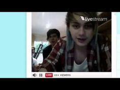 #5SOStwitcam 18.11.12 I remember thiss :') the day the Out of My Limit single came out and the invention of derpball