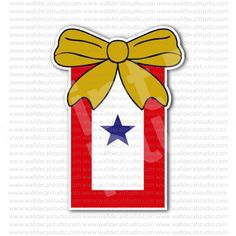 Blue Star Service One Star Flag Sticker