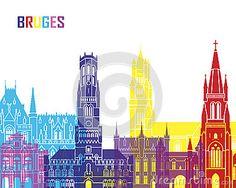 Pop de horizon van Brugge
