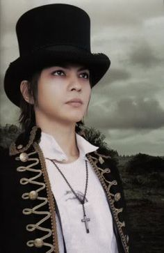Top hats and military-ish jackets are hot hyde Daniel Henney, Miyavi, Gackt, Him Band, Visual Kei, Record Producer, Original Image, A Good Man, Photo Book