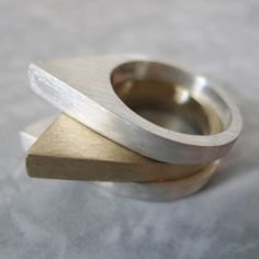 Drop Bronze Ring