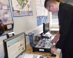 Student at Buckhaven using some Automatics kits http://www.matrixtsl.com/solutions/technology-computerscience/