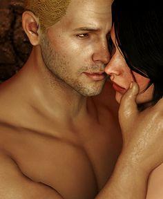 Cullen x Trevelyan #dragonage #inquisition #romance