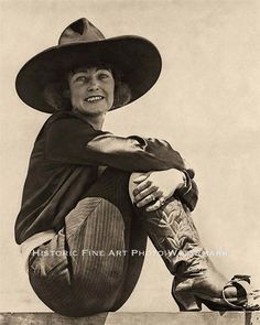 Mabel Strickland was one of the most recognizable and popular cowgirls of the early days of rodeo. It has been said that she was the most photographed cowgirl of all. Photographers loved to take pictures of the lovely little lady as she competed in trick riding, relay racing, roman riding, steer and bronc riding and calf and single steer roping! She was also a Rodeo Queen and was likely to win at a number of different events on any given day.