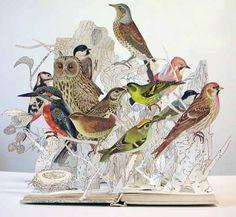 Su Blackwell- Escultura con Papel