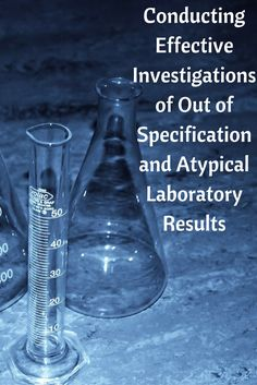 This webinar discusses what constitutes an atypical or Out of Specification result, the Barr Decision of 1993 and its impact on OOS investigations and more. Register Now. Atypical, Health And Safety, Investigations