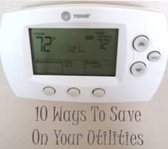 10 Ways to save on your utilities... probably be glad i pinned this one day Money Tips, Money Saving Tips, Ways To Save Money, Kit, Home Organization, Organizing, Money Management, House Design, Money Matters