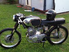 1966 Honda CB 160 Cafe Racer
