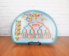 Vintage 1978 Quercetti RAMI Binary Teacher Toy | Made in Italy by FireflyVintageHome on Etsy
