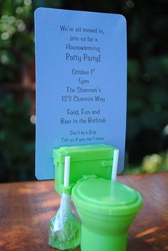 Potty Party! Don't get me started on ideas for this party! Toilet paper/wipe party favors?? Oh my.