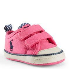 Carlisle II Canvas EZ Sneaker - Baby Girl New Arrivals - RalphLauren.com