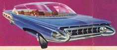 Kaiser Haleakala concept, 1958