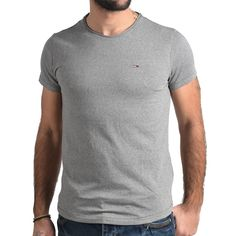 T-SHIRT ΜΠΛΟΥΖΑΚΙ ΑΝΔΡΙΚΟ BASIC KNIT TOMMY HILFIGER Tommy Hilfiger, Polo, Knitting, Mens Tops, T Shirt, Fashion, Supreme T Shirt, Moda, Polos