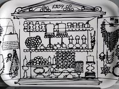 Aarrekaappi tray by Aarikka, my favourite