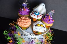 5 Halloween Cupcakes